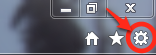 select IE gear icon